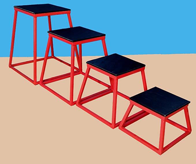 Set of 4 Plyometric Platforms - 12