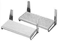 Garelick 26115 White Polymer Footrest