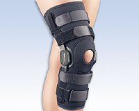 FLA 37-109 HINGED KNEE BRACE POWER CENTRIC COMPOSITE POLYCENTRIC XTRA LARGE