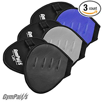 REAL Leather Workout Grips That Fit Like A Glove! For Crossfit   Weight Lifting   Gymnastics