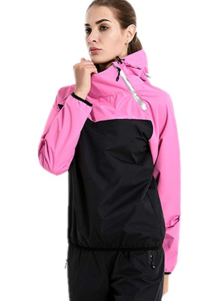 BET&FIT Womens Workout Training Suit Sauna Sweat Suits Weight Loss Suits