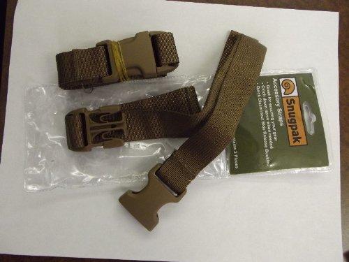 SnugPak Accessory Straps Coyote Tan 92189
