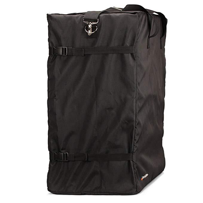 We Sell Mats Shoulder Bag for Interlocking Floor and Carpet Mats, Black