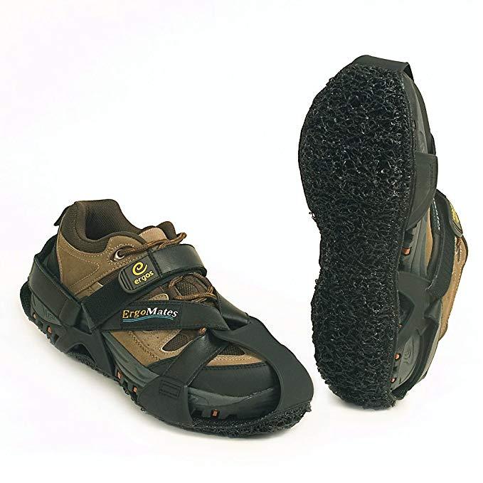 Ergomate Lite Wearable Anti-Fatigue Mats - Black - Small - Black - Small
