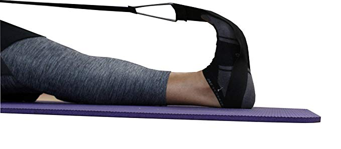 The Leg Tech- Stretch for Your Calf, Heel, and Foot to Relieve Pain and Plantar Fasciitis- Restless Leg Syndrome Relief- Pre Workout Stretch- Hands Free and Portable-MORE STRETCH, LESS WORK