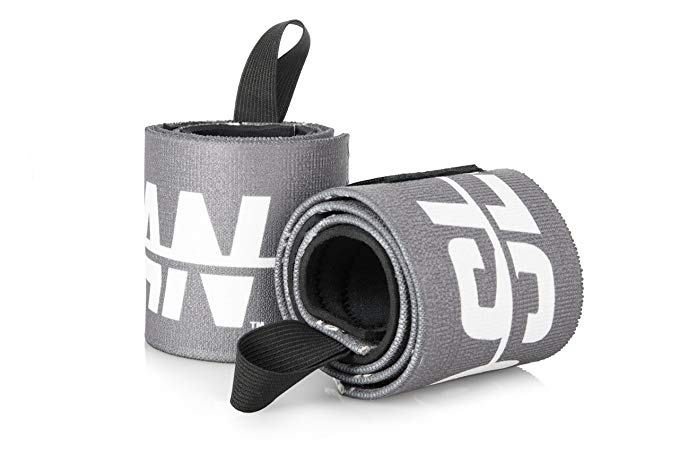 Sloan Weightlifting Wrist Wraps - Fitness is Therapy - for Crossfit Powerlifting Gym Lifting Calisthenics OLY and Carpal Tunnel - Workout with Our Soft 24