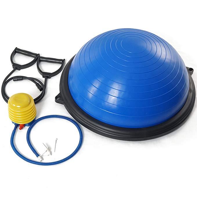 Titan Blue Balance Ball Trainer Yoga Strength Resistance Exercise Workout
