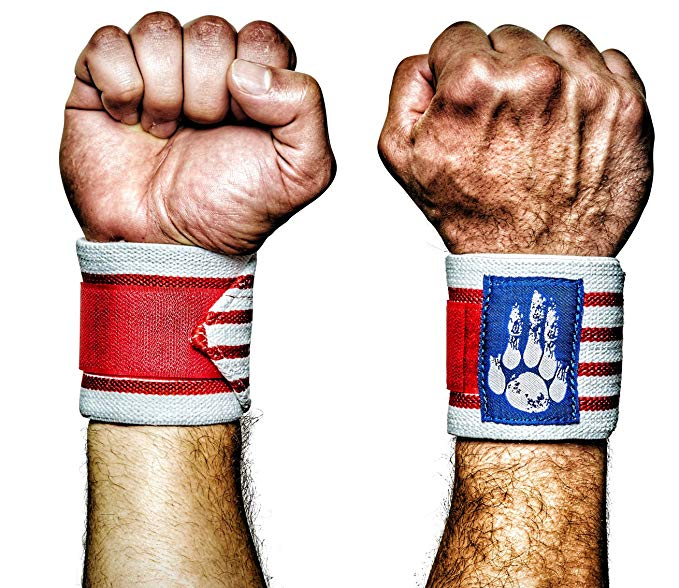 MANIMAL: The Best Weightlifting Straps with Superior Wrist Support, 1 Wrist Wraps Trusted by Professional Powerlifting, Strongman, Crossfit and Olympic Athletes