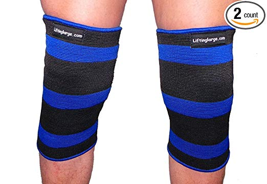 Blue Crusher 2 Ply Knee or Elbow Sleeves - Powerlifting - Weighlifting